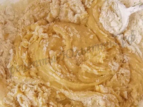 заварное тесто для медовых коржей