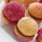 пирожные персики фото рецепт