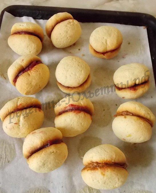заготовки для пирожных