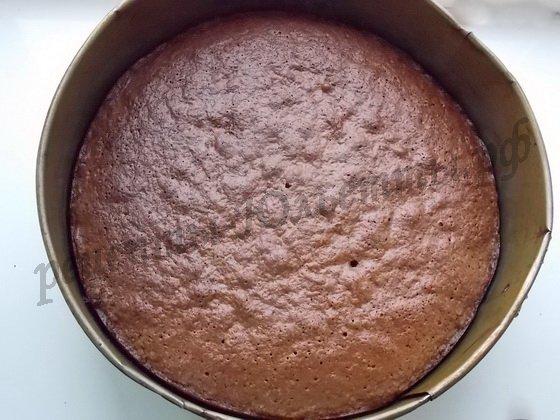 выпекаем корж для торта