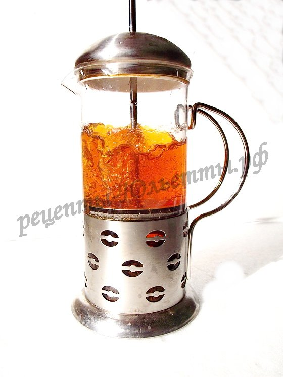как пользоваться френч прессом для чая