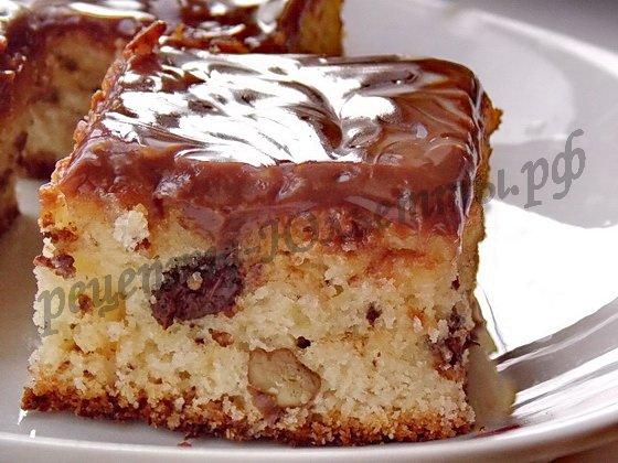 пирожные с орехами фото