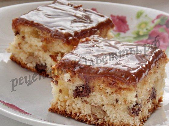 ореховые пирожные рецепт