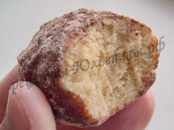 рецепт пирожных картошка