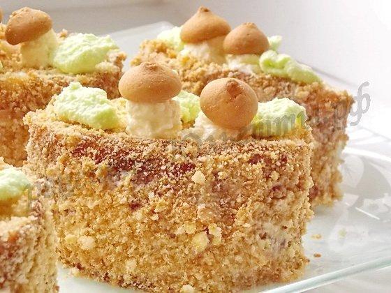 Домашние пирожные пенёчки рецепты