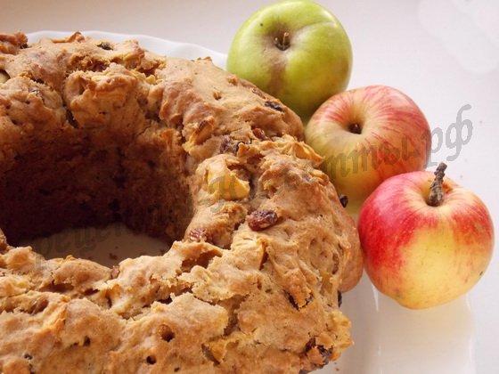 яблочный кекс фото