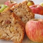 вкусный яблочный кекс