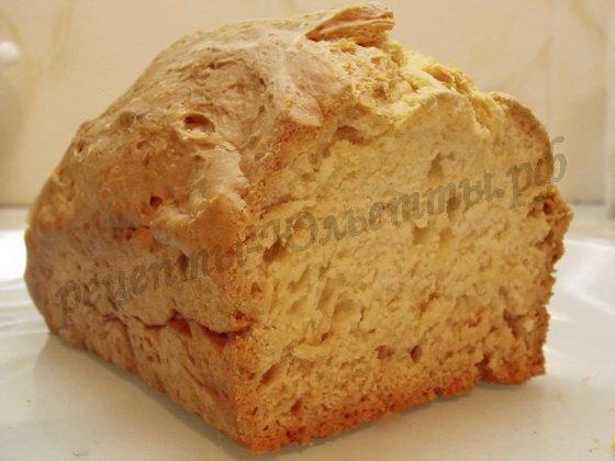 рецепт домашнего хлеба на кефире