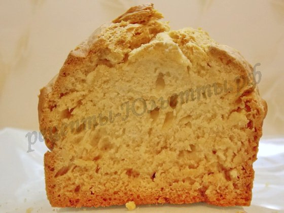 вкусный хлебушек на кефире