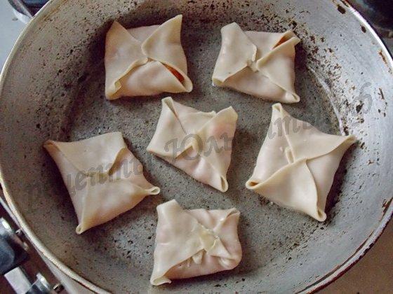 как приготовить плацинды на сковороде