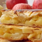 вкусные плацинды с яблоками