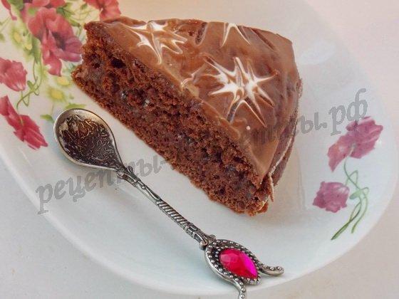 шоколадный сметанник готов