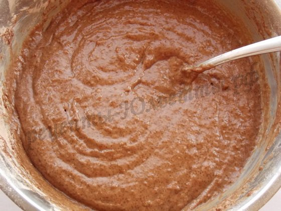 тесто для шоколадного сметанника