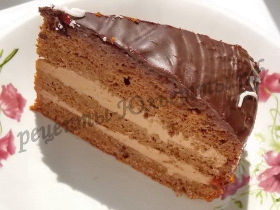 пражский торт дома