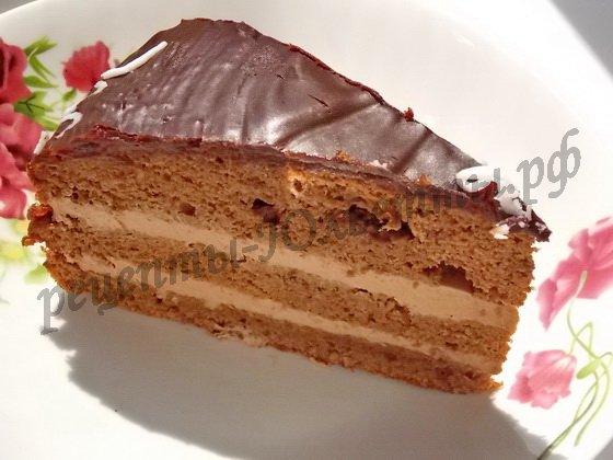 вкусный шоколадный торт прага