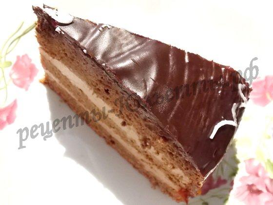 классический пражский торт дома пошаговый рецепт