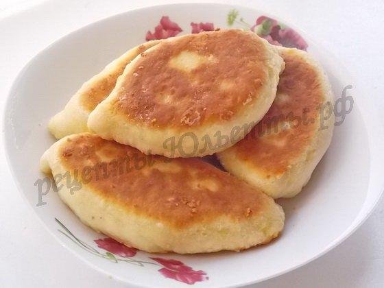 Тесто на кефире с сыром