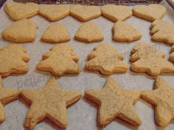 как испечь имбирное печенье
