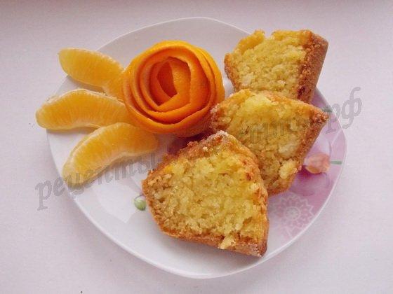 манник с апельсинами рецепт