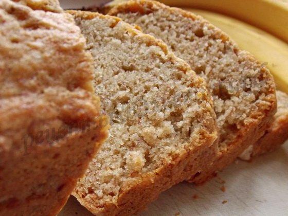 банановый хлеб фото рецепт