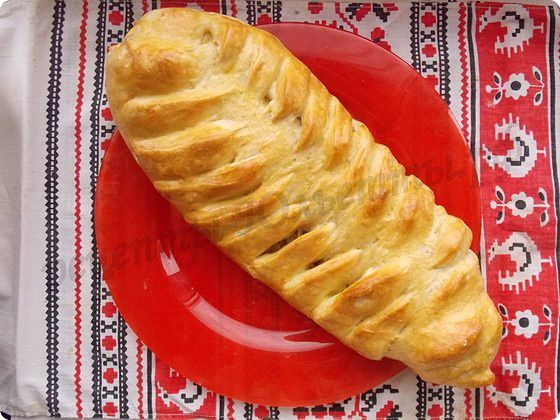 капустный пирог Колосок