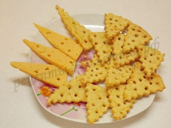 сырные крекеры фото