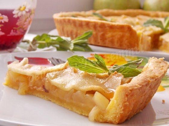 яблочный тарт  фото