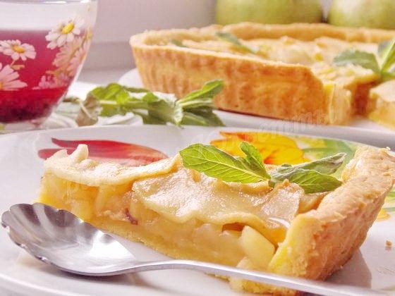 как приготовить французский яблочный тарт