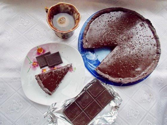 шоколадный тарт фото