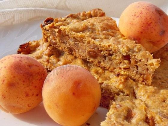 итальянский абрикосовый пирог
