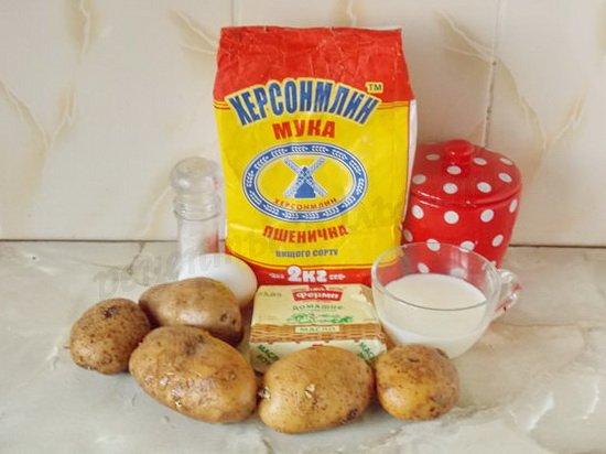 ингредиенты для кыстыбый с картофелем