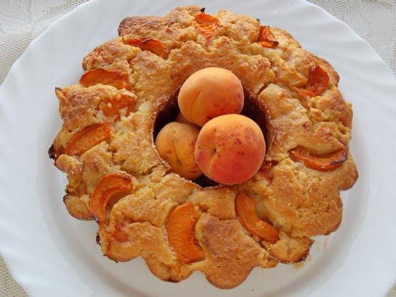 абрикосовый манник