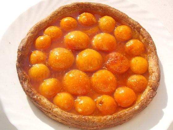 абрикосовый пирог с желе