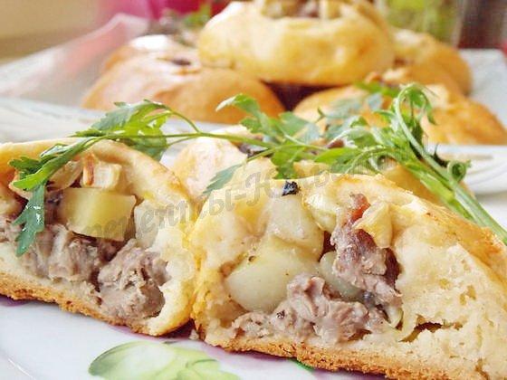 вкусные вак-балиш с мясом и картошкой