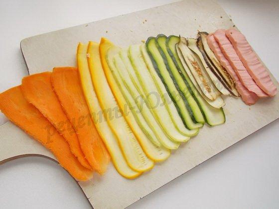 овощная радуга