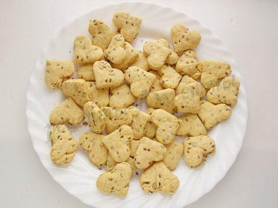 Песочное печенье с семечками рецепт
