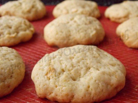 выпекаем печенье с яблоками