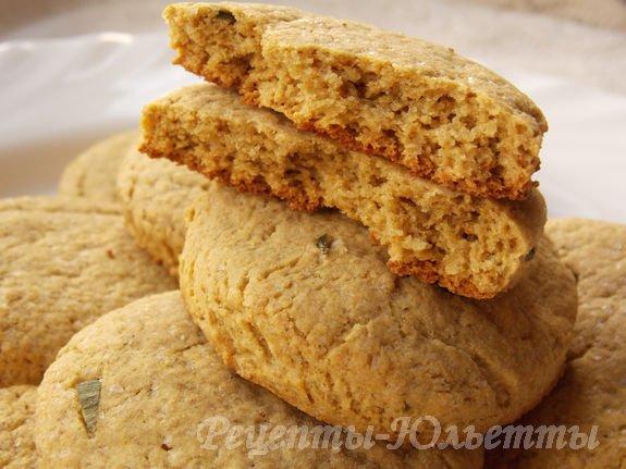 вкусное пышное печенье