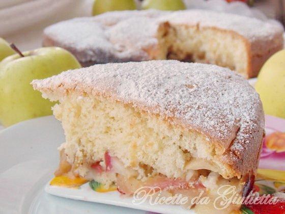 ricetta di torta con mele