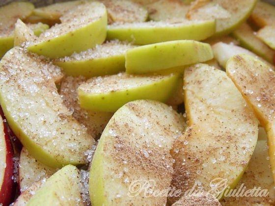 spargete le mele con la canella