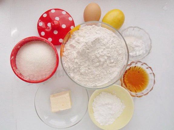 ингредиенты для пряников из медового теста