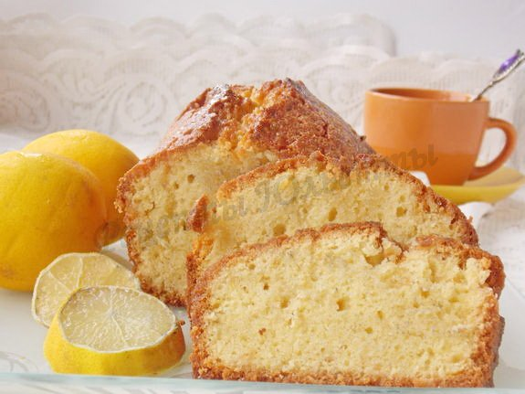 кекс с лимоном