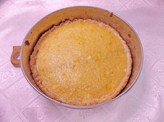 выпекаем лимонный тарт