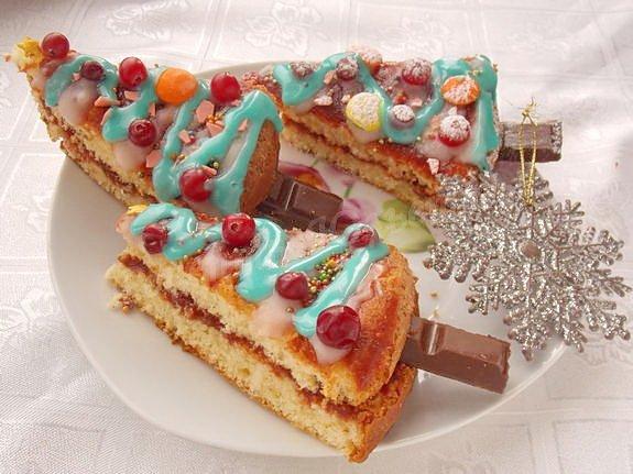 пирожные ёлочки