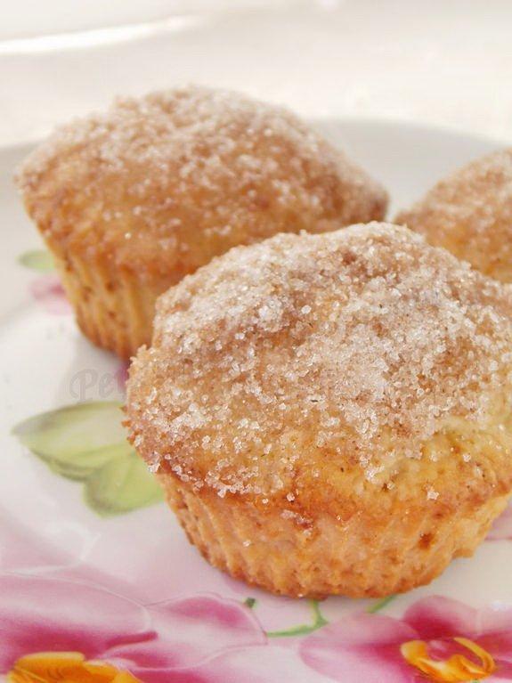 рецепт кексов с корицей