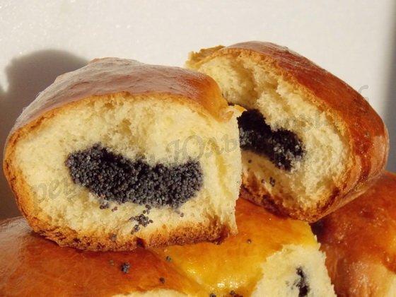 вкусные маковые пирожки