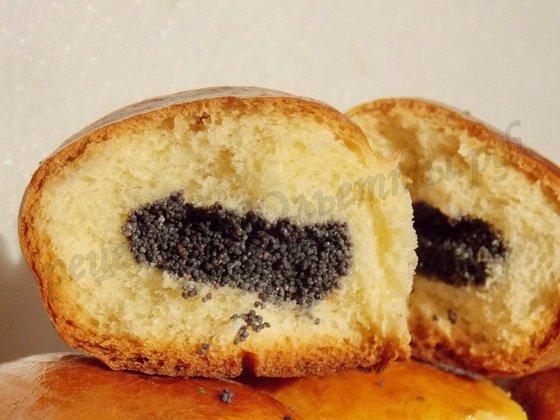 дрожжевые пирожки с маком