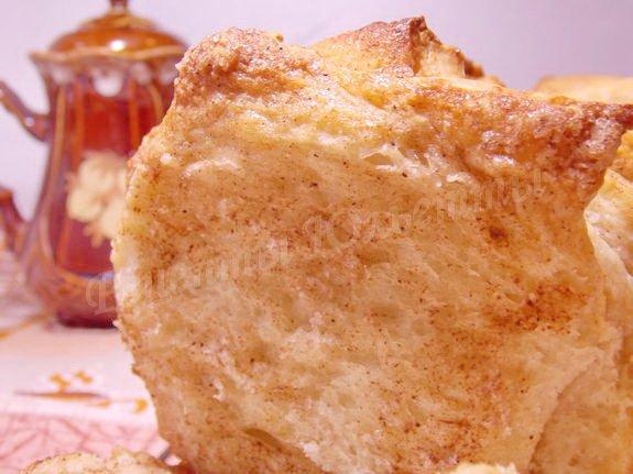 сладкий десертный хлеб с корицей