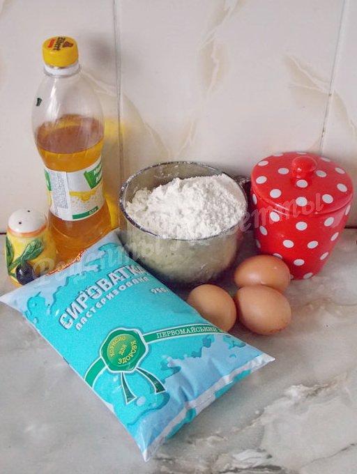 ингредиенты для блинчиков на сыворотке