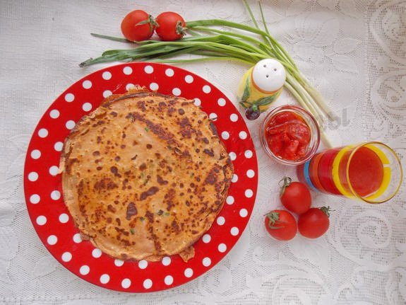 рецепт блинчиков на томатном соке
